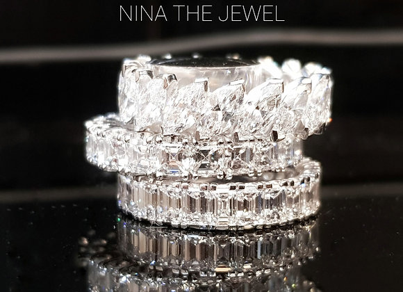Marquise Eternity Ring #53