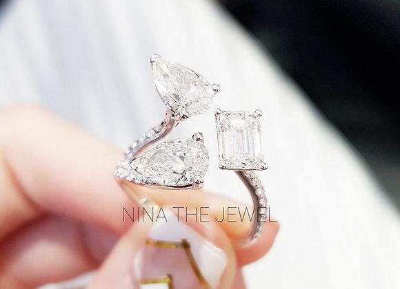 Carat Size Fancy Shape Ring