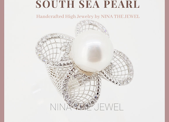 14.95mm Premium South Sea Pearl Ring