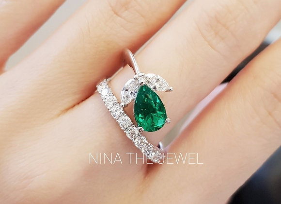 1.14ct Top Colombian Emerald
