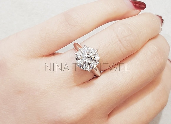 3.01ct G,VS1 GIA Engagement Ring