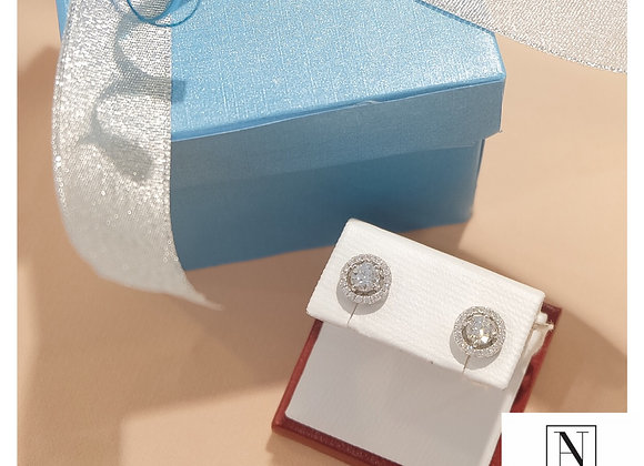0.50ct each with GIA certificates with stud and removable jacket earrings