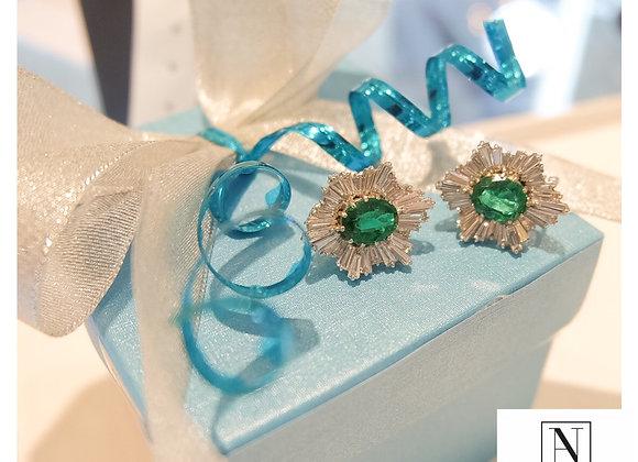 Finest Colombian Emerald Earrings