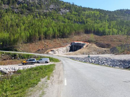 Barents Road organisation congratulates Norway - Saltdal municipality with the opening of Kjernfjell