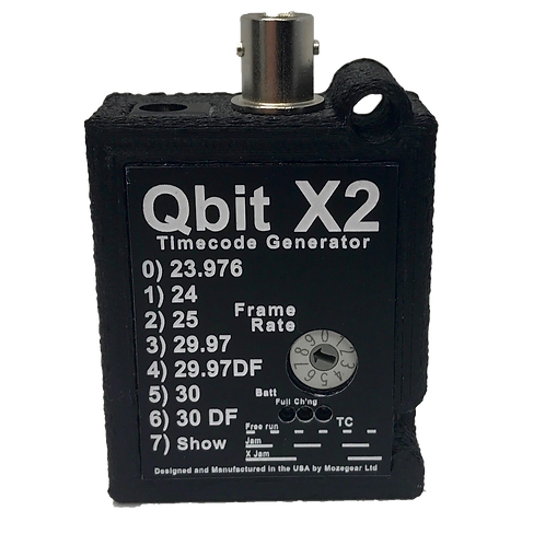 Qbit X2 Timecode Generator with charger