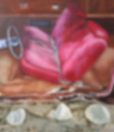 carbour_10_BANC ROUGE AVEC TROIS ROCHES