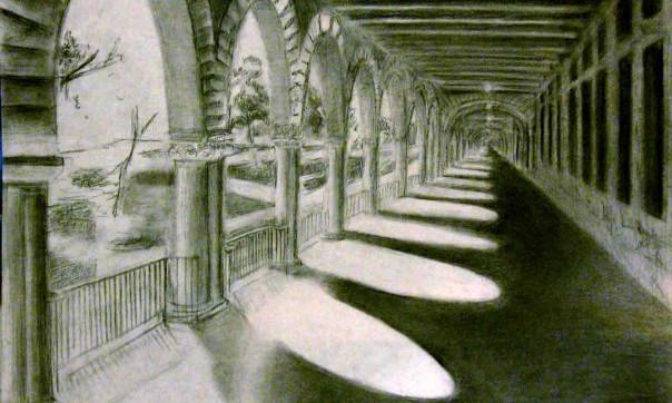 """""""Stanford Hallway"""""""