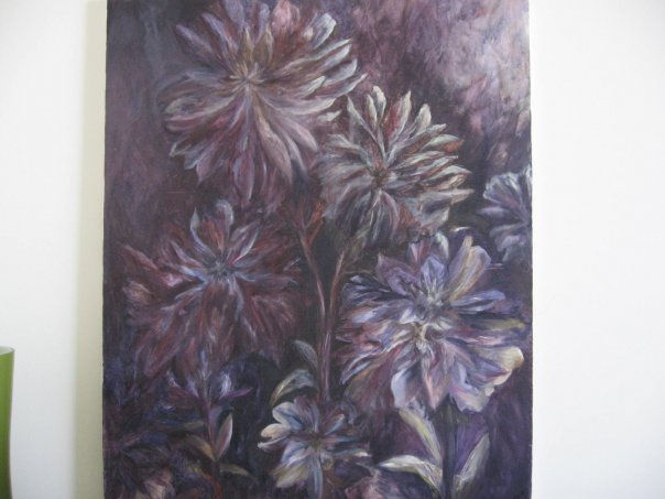 """purple flowers"""