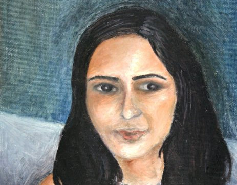 """""""self-portrait of me at 17"""""""