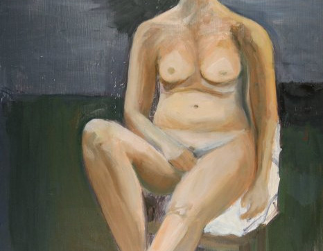 """oil paint figure study"""