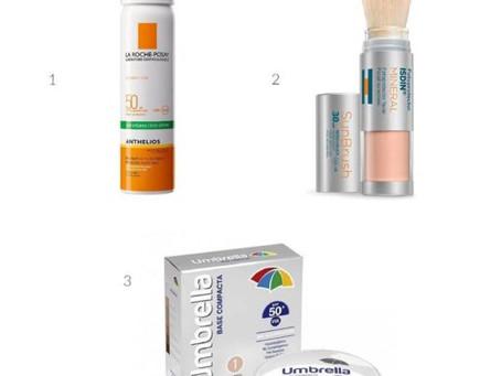 Como re aplicar el protector solar si te maquillas