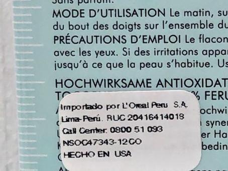 ¿Cómo saber si el producto que utilizo cuenta con registro sanitario?