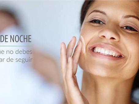 Cuidados básicos para la piel: Rutina facial de noche