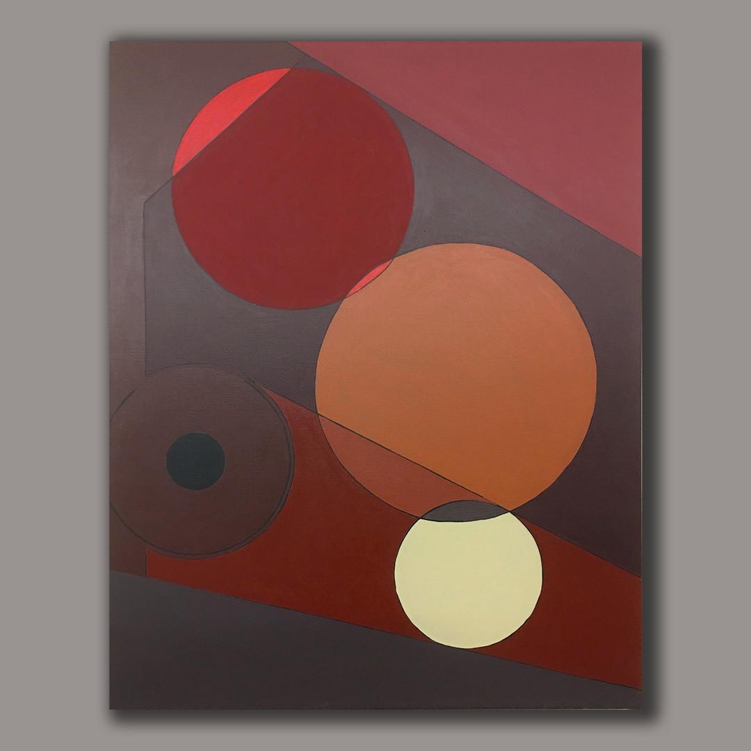 A.G. #09 acrylic on linen 92cm x73