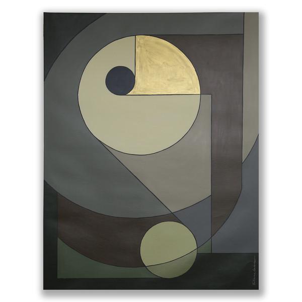 AG 38 acrylic on canvas 162 X 130cm