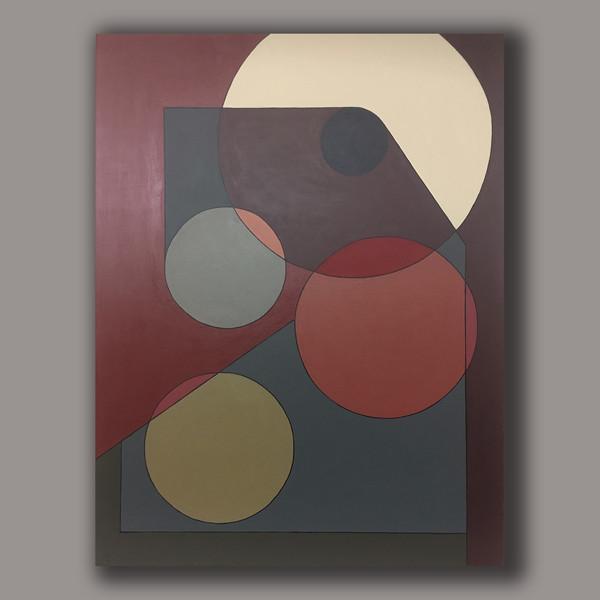 A.G.#02  acrylic on linen 116cm x89cm