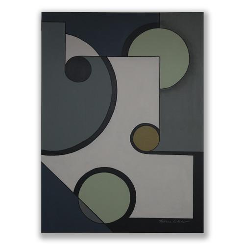 AG 25 acrylic on canvas 162 X  114 cm