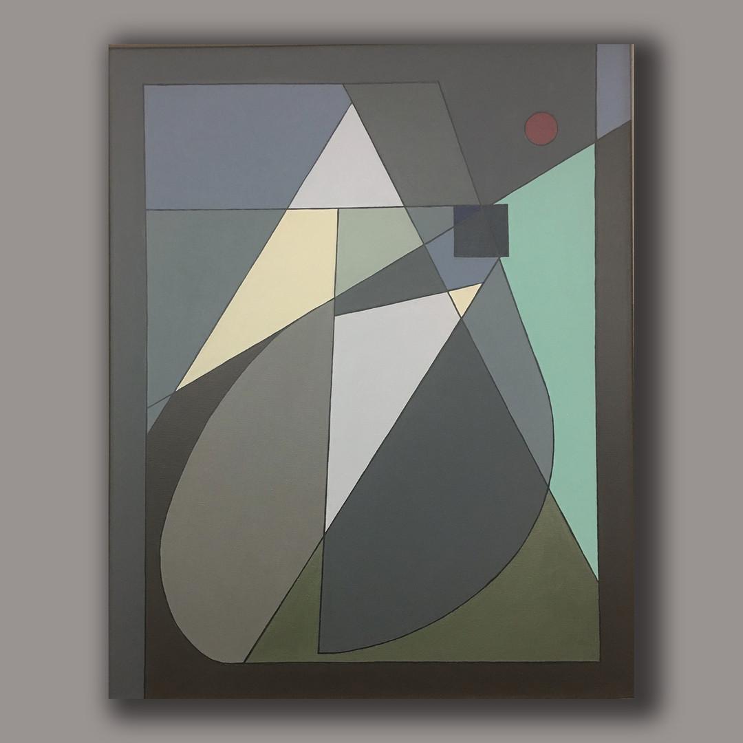 A.G. #010 acrylic on linen 92cm x73