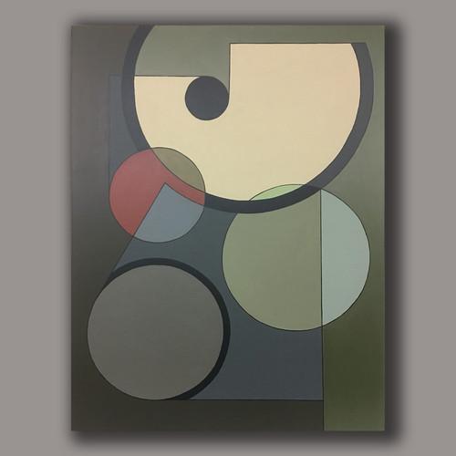 A.G.#013  acrylic on linen 116cm x89cm