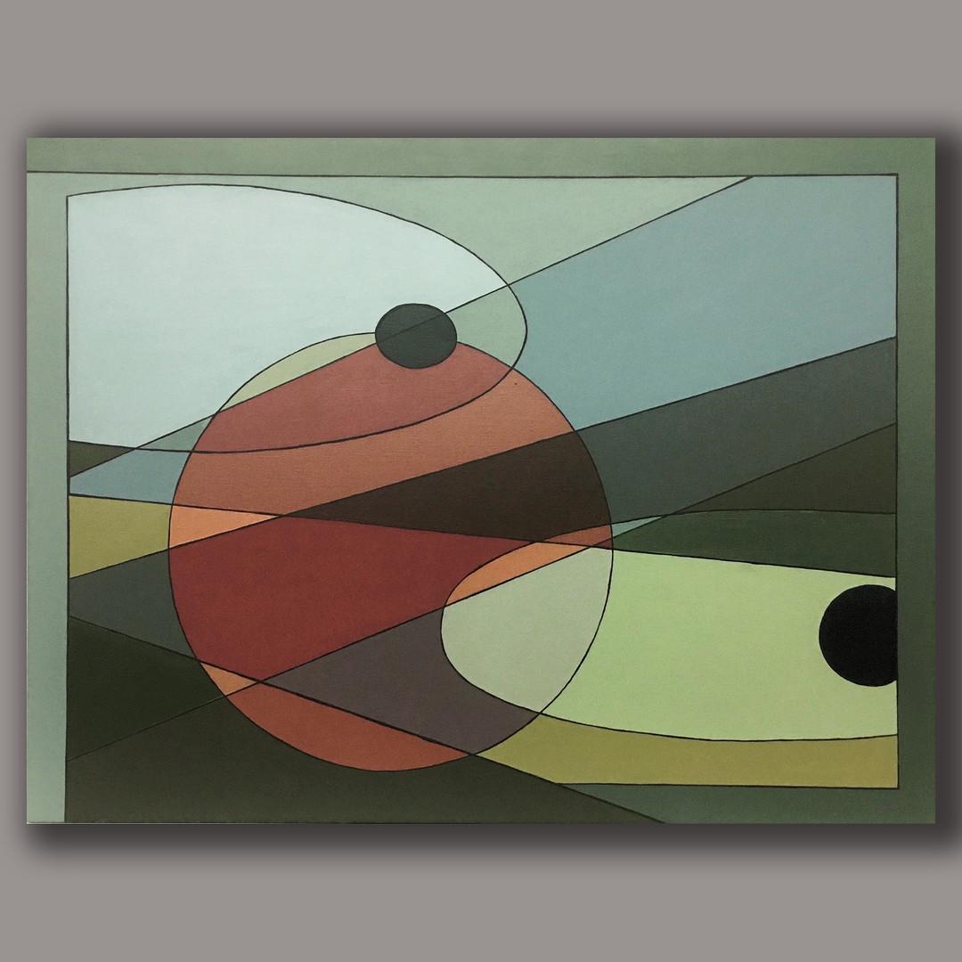 A.G. #04 acrylic on linen 92cm x73