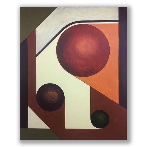 AG 32 acrylic on canvas 160 X 130 cm