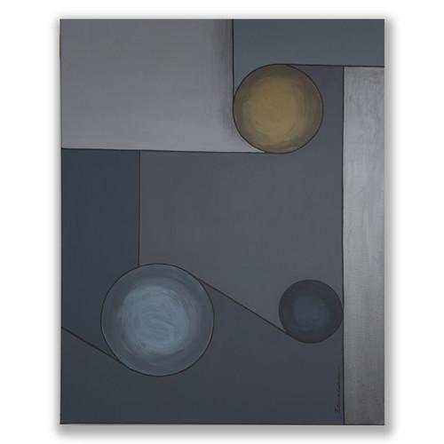 AG 27 acrylic on canvas 93 X 73 cm