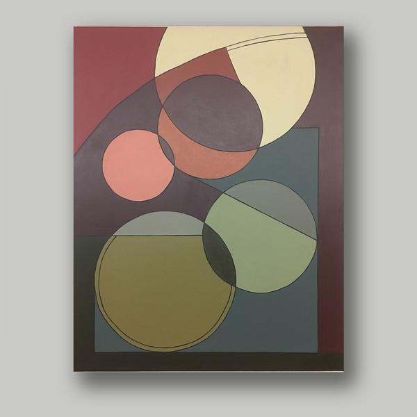 A.G. #014 acrylic on linen 92cm x73