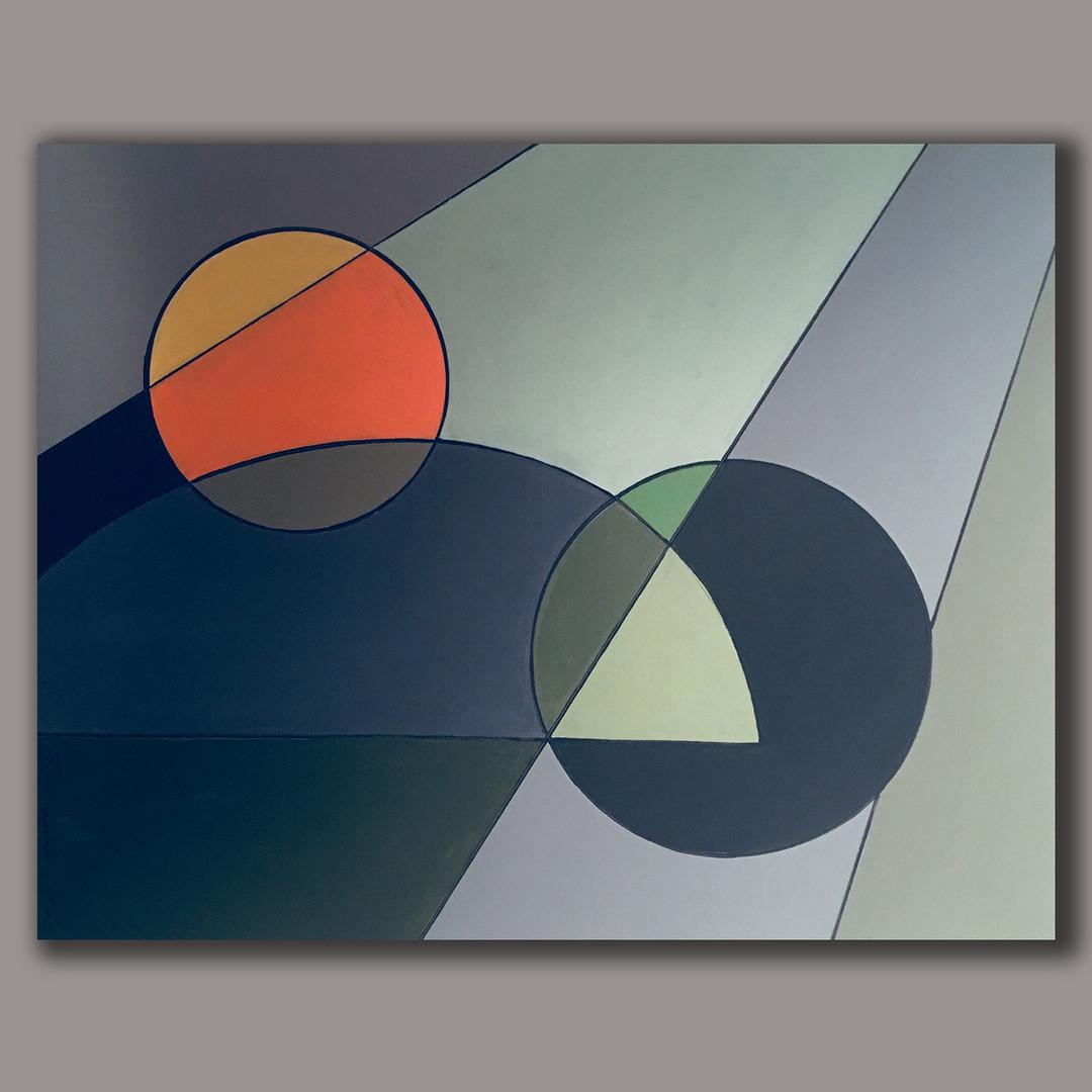 A.G. #05 acrylic on linen 92cm x73