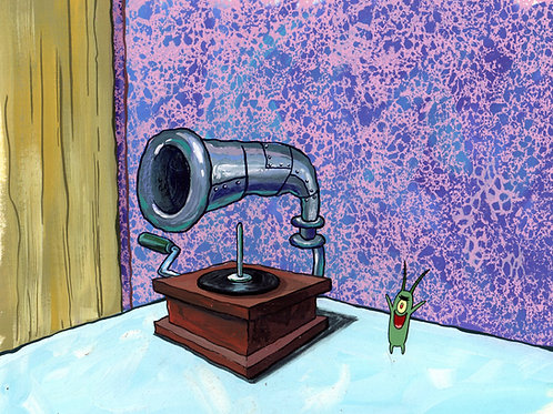 Original Production Background  SETUP Plankton