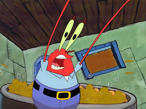 Krabs Production Cel Squeaky Boots