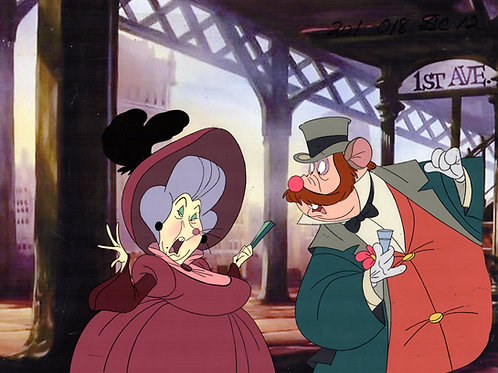 Great image of Gussie Mausheimer and Honest John from AN AMERICAN TAIL