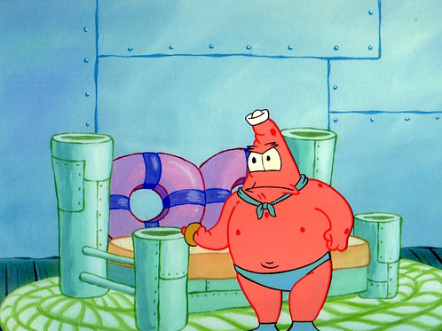 Patrick Star as Mermaidman