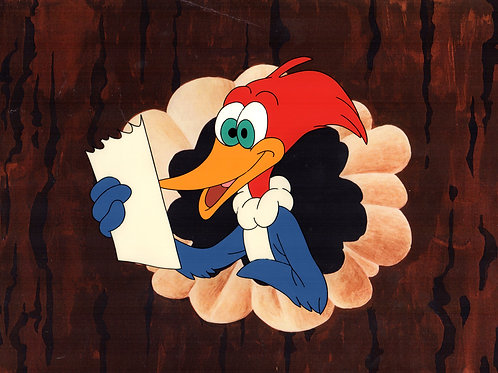 1991 Academy Awards Woody Woodpecker production cel