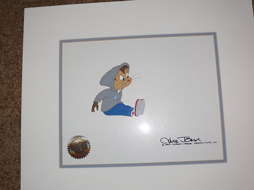 STAY TUNED 1992 Chuck Jones Signed Production cel