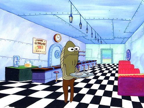 "Fred ""MY LEG"" Fish Rare Character!"