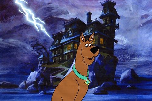 1980s Scooby Doo production cel