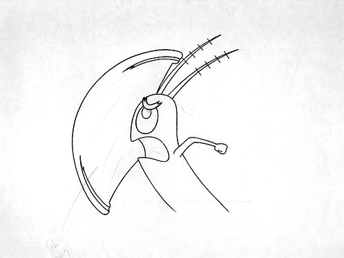 Plankton Production Drawing