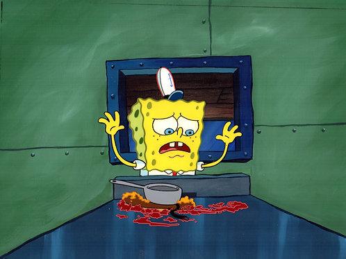 Original Production Background  SETUP SpongeBob the Fry Cook!