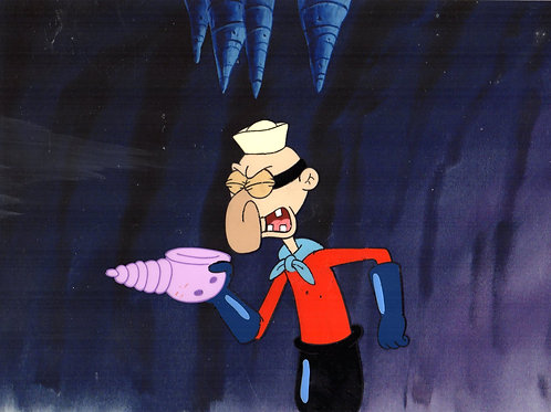 Barnacle boy with the HORN that calls the superheroes.