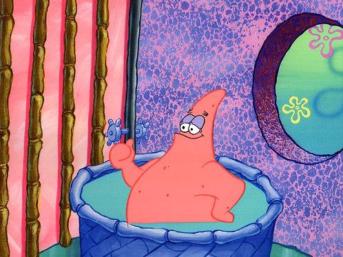 Patrick in the tub!