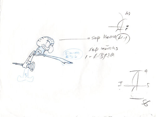 Production drawing from SB 129