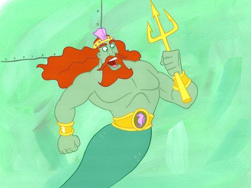 Original Production Background  SETUP King Neptune