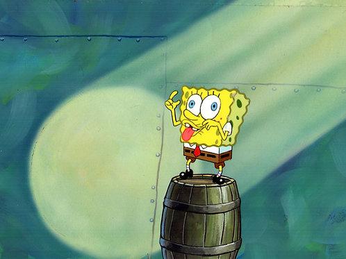 Original Production Background  Goofy SpongeBob