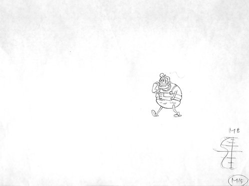 MermaidMan Production Drawing