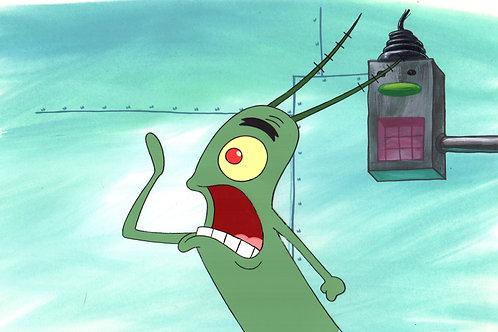 Original Production Background  SETUP Plankton