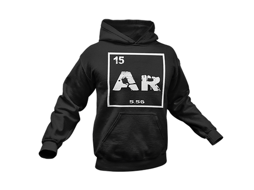 Ar Periodic Table Hoodie