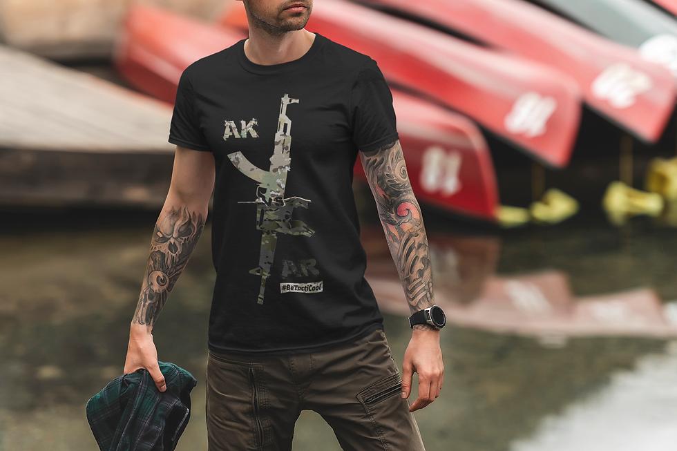 t-shirt-mockup-of-a-man-posing-by-a-lake