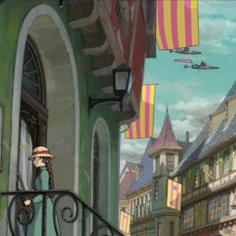 [Référence] L'Architecture européenne dans les films d'Hayao Miyazaki