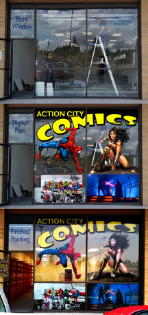 Action City Comics