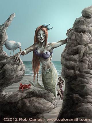 Z Mermaid Princess